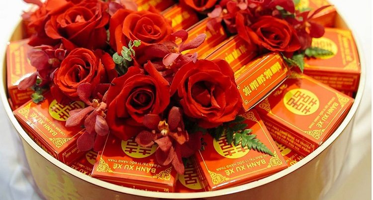 5 lễ vật tráp ăn hỏi không thể thiếu trong ngày cưới