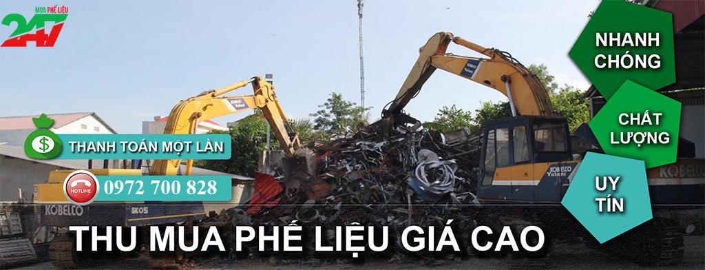Thu mua phế liệu máy móc cũ Mua Phế Liệu 247